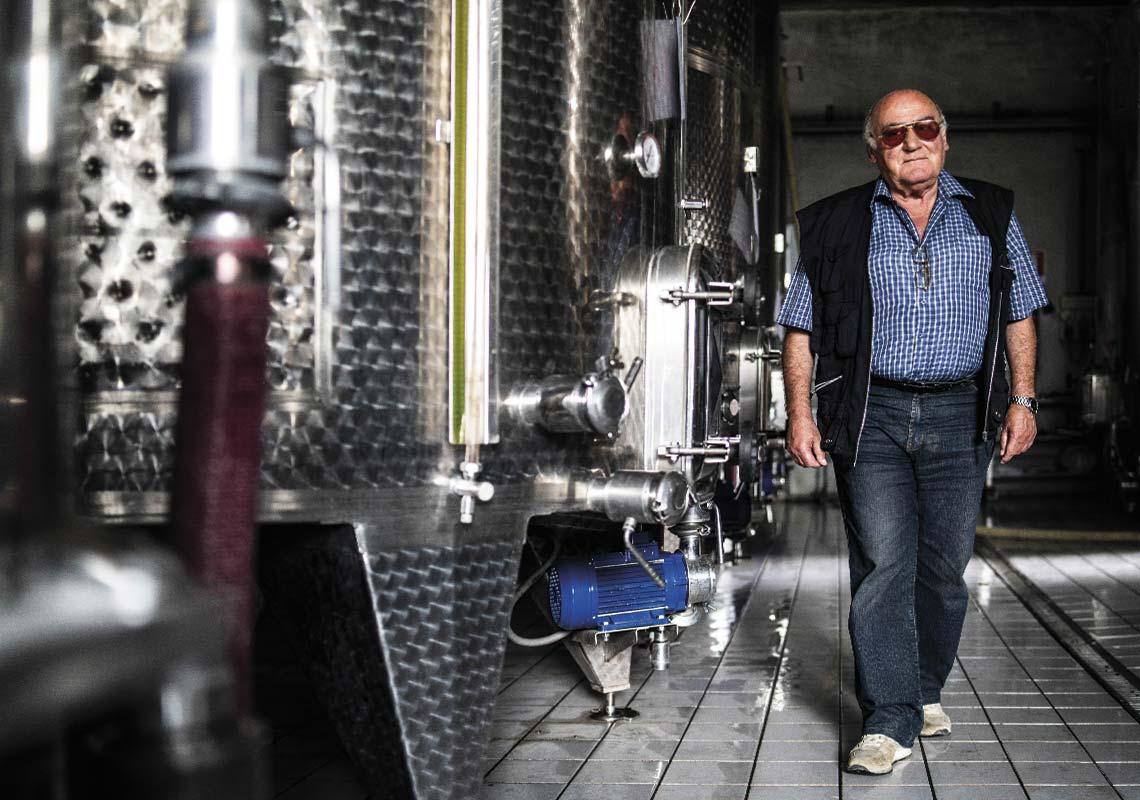fine wine production