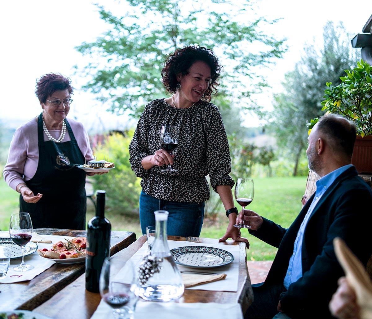 Wine Tasting and Tuscan food