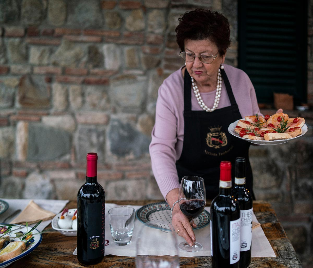 Wine Tasting and Tuscan specialties
