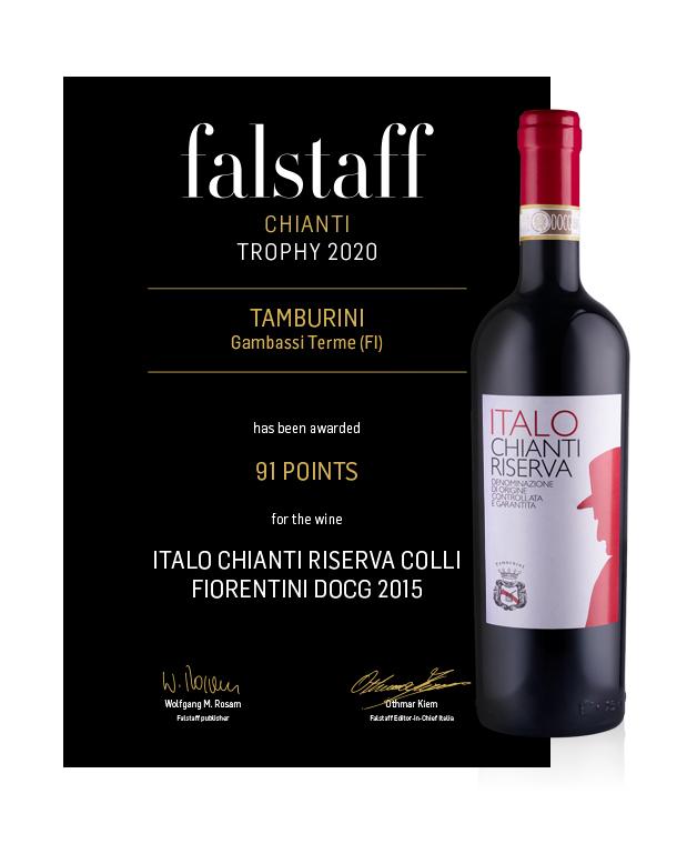 Falstaff Chianti Trophy 2020 - Italo Chianti Riserva