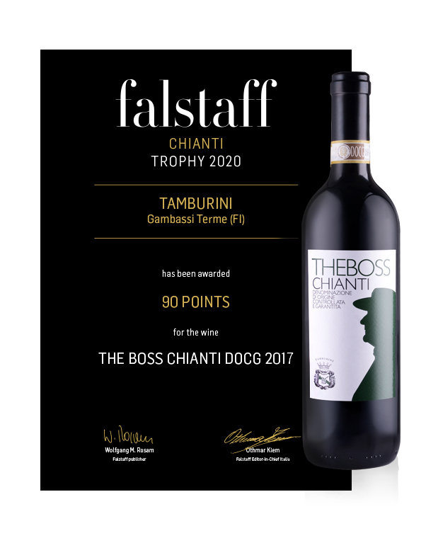 Falstaff Chianti Trophy 2020 - The Boss Chianti DOCG